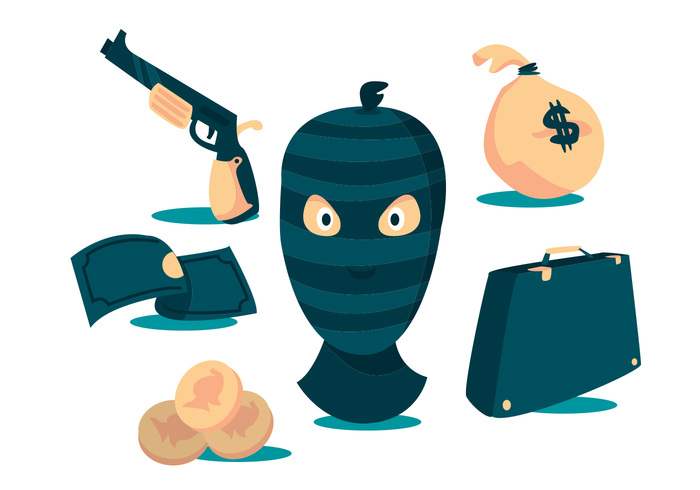robber-vector-set